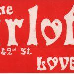 Harlots of 42nd Street bumper sticker