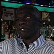Kenny Baldwin at bar